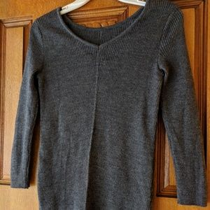 NWT Massimo Dutti gray sweater